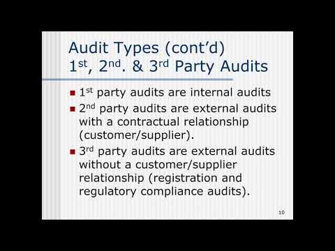 Webinar: Auditing 101 - YouTube