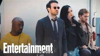 The Defenders: First Look At Marvel Mashup | Cover Shoot | Entertainment Weekly