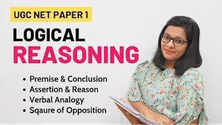 NTA UGC NET Paper 1- Logical Reasoning (Crash Course)