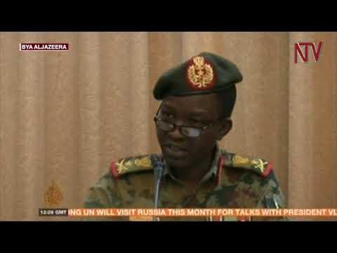 Baganda ba Bashir e Sudan babiri babakutte