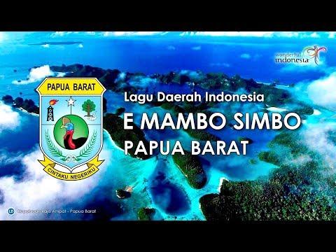 E mambo simbo   lagu daerah papua barat  karaoke dengan lirik