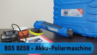 Let´s Test - BGS 9259   Akku-Poliermaschine
