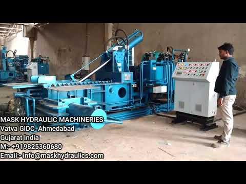 Triple Action Scrap Baling Machine Mini Jumbo