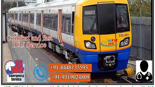 Book Low Cost Train Ambulance Service from Jamshedpur  to Patna  By Hifly I