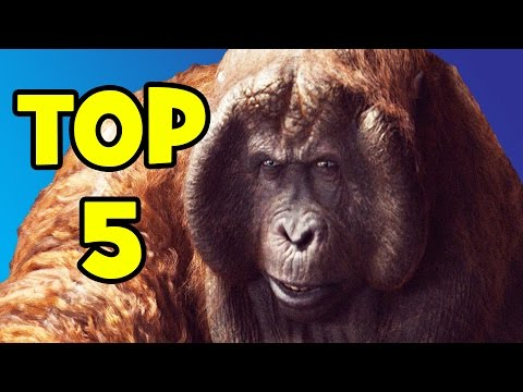 THE JUNGLE BOOK Top 5 Moments - Spoiler Review | MTW