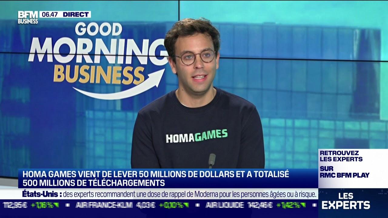 Daniel Nathan (Homa Games) : Homa Games vient de lever 50 millions de dollars