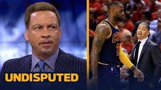 Chris Broussard on Ty Lue giving advice to Luke Walton on coaching LeBron   NBA   UNDISPUTED