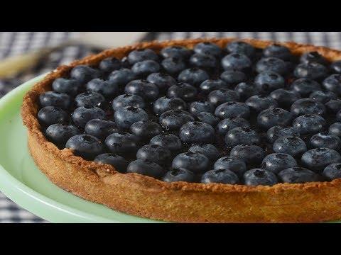 Blueberry Tart Recipe Demonstration – Joyofbaking.com