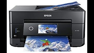 Epson XP-7100 Unboxing Setup and Review