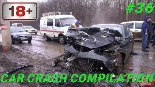Car crash compilation Dash cam accidents Подборка Дтп #36