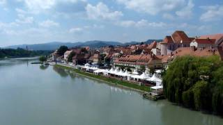 preview picture of video 'Mini footage - View from the bridge (Maribor, Slovenia)'