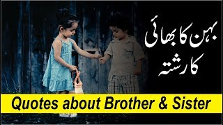 Quotes about Brother & sister with image and voice || bhai behan quotes & wishes