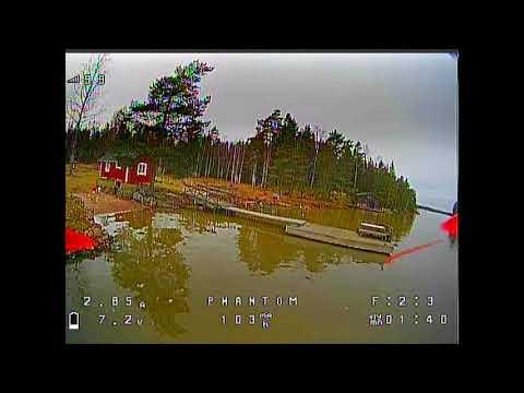 Winter island fun, flying over water #1 - GEPRC Phantom (2020 #22)