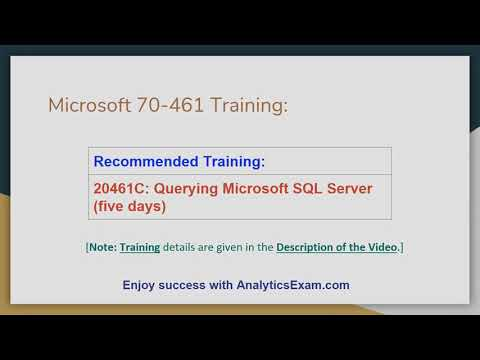 How to Prepare for Querying Microsoft SQL Server 2012/2014 (70 ...