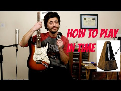 How To Play Guitar In Time