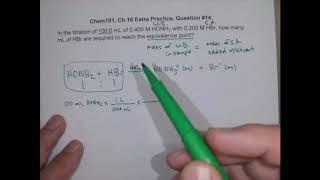 C5M Calc Volume Titrant to Eq  Pt