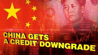 穆迪下调中国评级