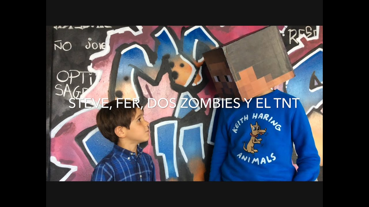 ZOMBIS A LA VISTA - Steve Minecraft en el mundo real