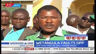 Moses Wetangula faults DPP Keriako Tobiko over move to probe NASA