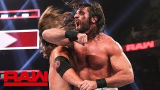 The Universal Champion and the United States Champion collide in this action-packed Raw main event.  #RAW  GET YOUR 1st MONTH of WWE NETWORK for FREE: http://wwe.yt/wwenetwork --------------------------------------------------------------------- Follow WWE on YouTube for more exciting action! --------------------------------------------------------------------- Subscribe to WWE on YouTube: http://wwe.yt/ Check out WWE.com for news and updates: http://goo.gl/akf0J4 Find the latest Superstar gear at WWEShop: http://shop.wwe.com --------------------------------------------- Check out our other channels! --------------------------------------------- The Bella Twins: https://www.youtube.com/thebellatwins UpUpDownDown: https://www.youtube.com/upupdowndown WWEMusic: https://www.youtube.com/wwemusic Total Divas: https://www.youtube.com/wwetotaldivas ------------------------------------ WWE on Social Media ------------------------------------ Twitter: https://twitter.com/wwe Facebook: https://www.facebook.com/wwe Instagram: https://www.instagram.com/wwe/ Reddit: https://www.reddit.com/user/RealWWE Giphy: https://giphy.com/wwe