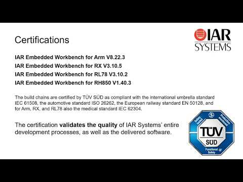 Certified tools for functional safety - YouTube