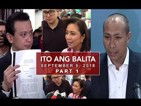 [UNTV]  UNTV: Ito Ang Balita (September 5, 2018) Part 1
