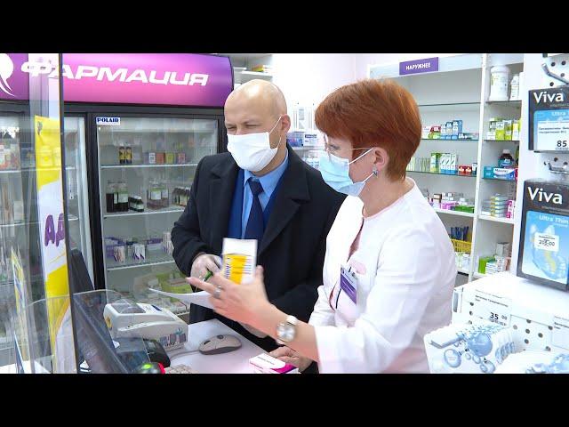 В Ангарске контролируют наличие лекарства от коронавируса