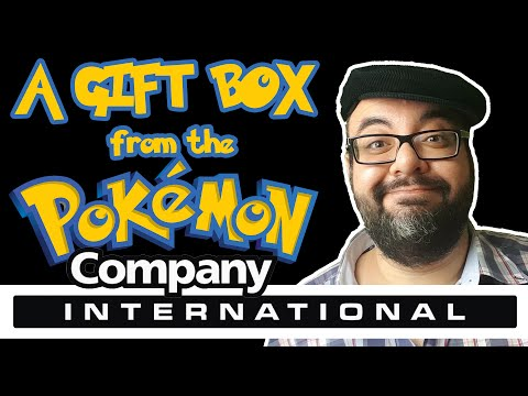Pokémon Company International sent me a HUUUUGE Package | UNBOXING