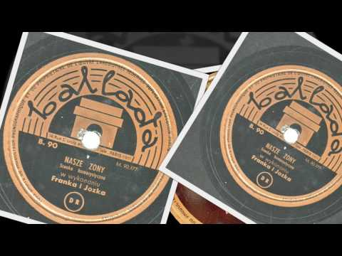 Polish 78rpm recordings, 1930s. Ballada 90. Nasze żony --scena komiczna