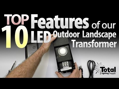 Delightful Top 10 Features Of Our 100watt PROsumer LED Outdoor Landscape Lighting  Transformers Nice Design