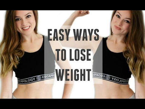 Video 10 EASY HEALTHY WAYS TO LOSE WEIGHT | WEIGHT LOSS TIPS