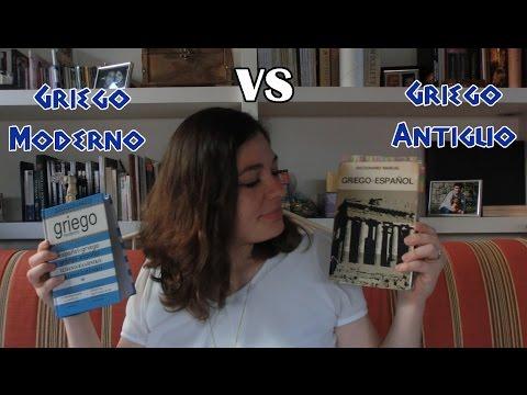 GRIEGO MODERNO VS GRIEGO ANTIGUO | ¿En qué se diferencian?