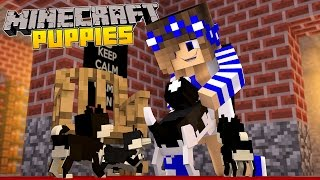 Minecraft-Little Carly Adventures-MY DOG HAS PUPPIES!!