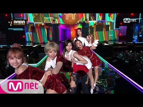 [2016 MAMA] TWICE - CHEER UP + TT