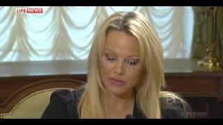 Памела Андерсон в Кремле призвала РФ взять лидерство в защите животных