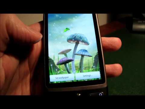 Video of Magic Mushrooms Live Wallpaper