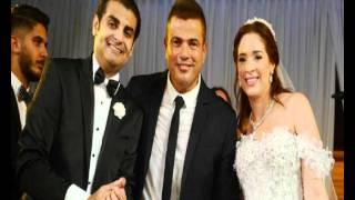 صور عمرو دياب وصافيناز يتألقان في حفل زفاف محمد عامر ودارين زرد