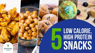 5 Low Calorie, High Protein Snacks For Weight Loss