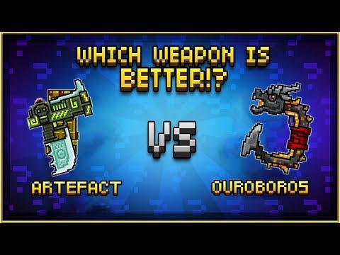 Artefact VS Ouroboros - Pixel Gun 3D