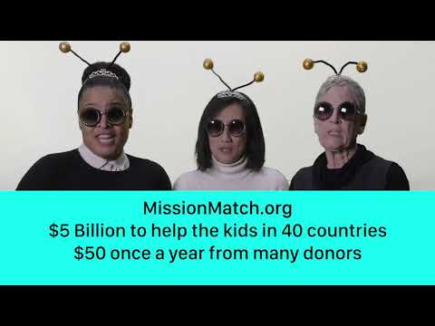 Mission Match Queen Bees Rap for the Children