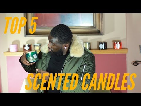 TOP 5 BEST SMELLING CANDLES FOR MEN 2018 | BATH AND BODY WORKS CANDLES REVIEW