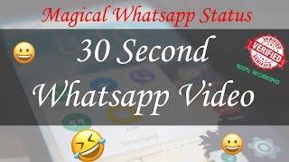 Fadu Status - Whatsapp Video Status - 30 Second Video - Download Free Magical Prank Videos