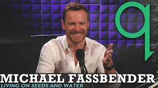 Michael Fassbender lived on seeds and water