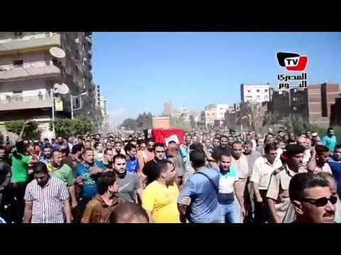 تشييع جنازة إسلام البغدادي أحد شهداء «شهداء هجوم أبو رفاعي»