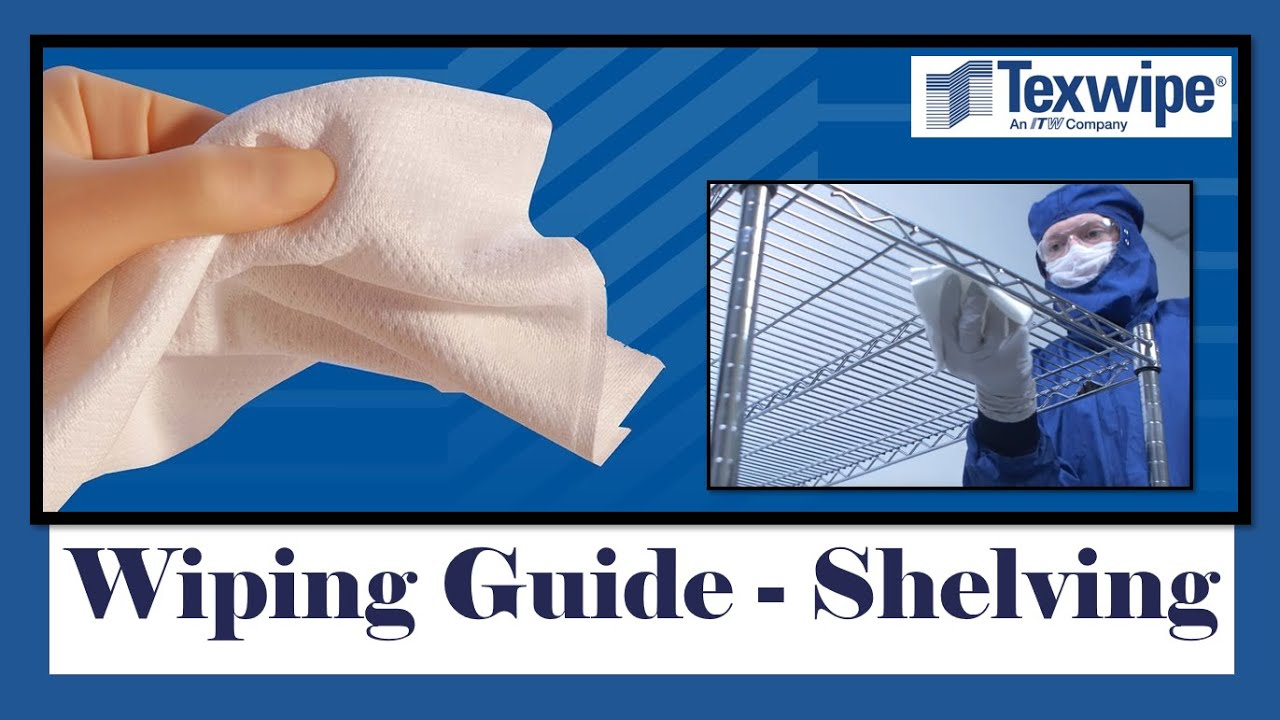 Cleanroom Wiping Guide - Shelving