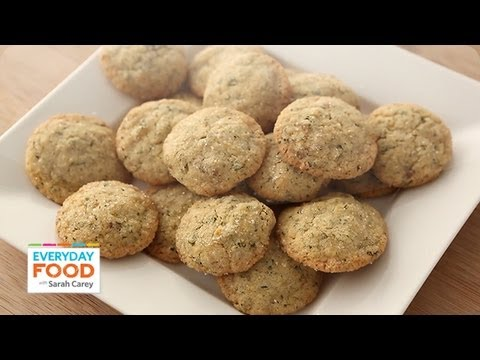 Lemon-Ginger Cookies with Mint – Everyday Food with Sarah Carey
