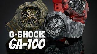 Relógio CASIO G-SHOCK GA-100 - Review Em Português