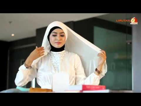 Video Tutorial Cara Pakai Jilbab Pashmina Cerutti Untuk Lebaran