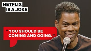 Chris Rock's Two Rules for Being in a Relationship   Netflix Is A Joke