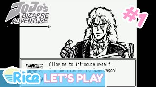 Prologue - Let's Play JoJo's Bizarre Adventure: The 7th Stand User #1